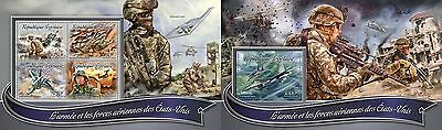 Z08 TG16301ab TOGO 2016 The army and air forces MNH Set