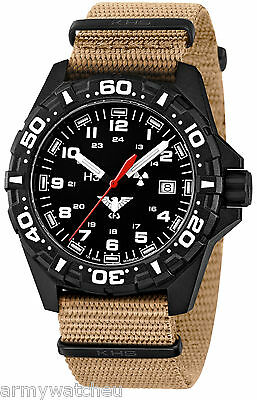 Tactical Army Field Watches Red Trigalights© German Army KHS Watches KHS.RE.NT