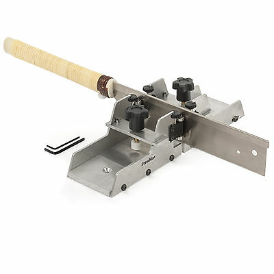 StewMac Fret Slotting Miter Box with Japanese Fret Saw