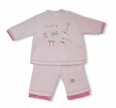 (TG. 56) Schnizler My Birthday Party, Completo Unisex - Bimbi 0-24, Rosa, (t2K)