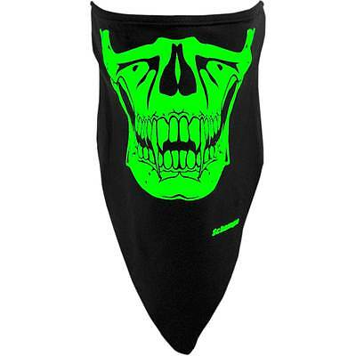 Schampa Vampire Glow in the Dark Stretch Half-Face Mask One Size Riding Coverage