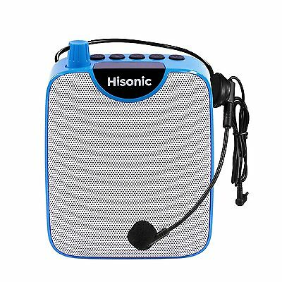 Hisonic HS388 Waistband Voice Amplifier Mini Portable PA System with Headset Mic