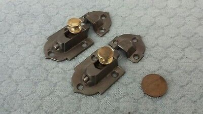 Cupboard Latches Cabinet Early Cast Iron Restored Rare Size