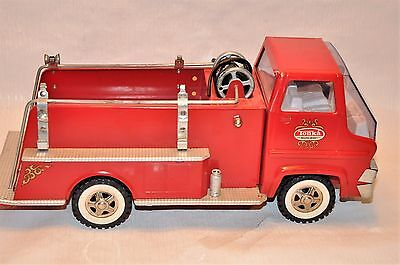 Vintage Tonka Turbine Pumper Fire Truck Pressed Steel Toy