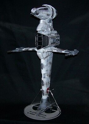 acrylic display stand for Bwing fighter verticle attack position Star Wars