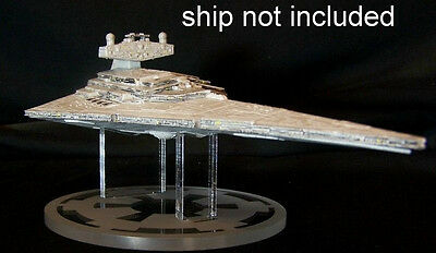 acrylic display stand for Disney Star Wars diecast Star Destroyer stand only