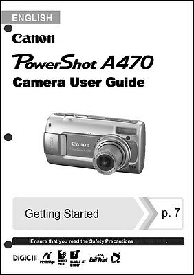 canon powershot user owners manual product user guide