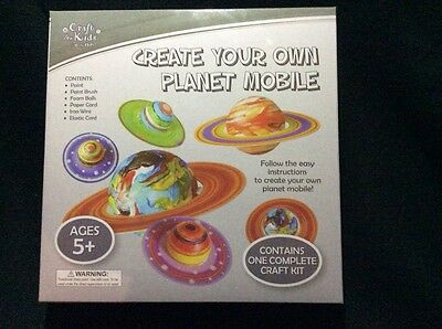 Create Your Own Planet Mobile - IDEAL KIDS GIFT!!