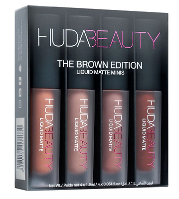 Brand New Huda Beauty  Lipstick Liquid Matte Minis Boxed UK Seller