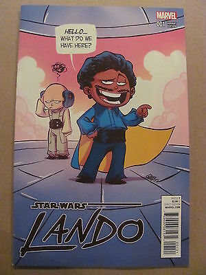 Star Wars Lando #1 Marvel 2015 Skottie Young Variant 9.6 Near Mint+