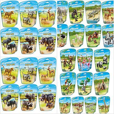 Playmobil Animals City Life Zoo Wild Life Assortment