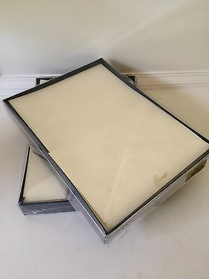 New Crane & Co. Half Sheets Ecruwhite Letter Sheets (CH3316) 40/20