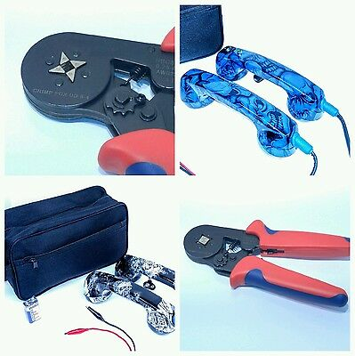 Loop Check, Electrician Phones, with Ferrule Crimper. Cable Tracer