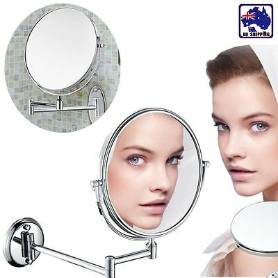 Wall Mounted Bathroom Double Side Magnifying Makeup Cosmetic Mirror JMIR21308