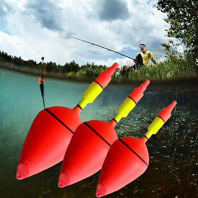 5pcs Fish  Floating Charms Bobber Float Big Belly Plastic Sea Fishing Float new1