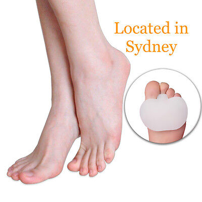 Silicone Gel Metatarsal Insole Cushion Pad Forefoot Dome Ball Of Foot