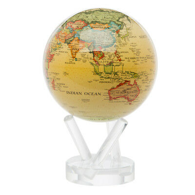 NEW Mova Medium Antique Beige Spinning Globe