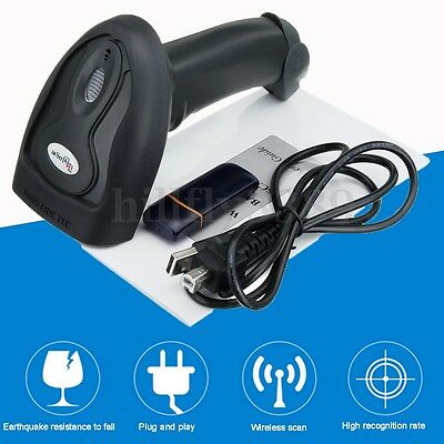 Wireless Bluetooth Handheld Barcode Scanner Bar Code Reader POS USB Laser NEW