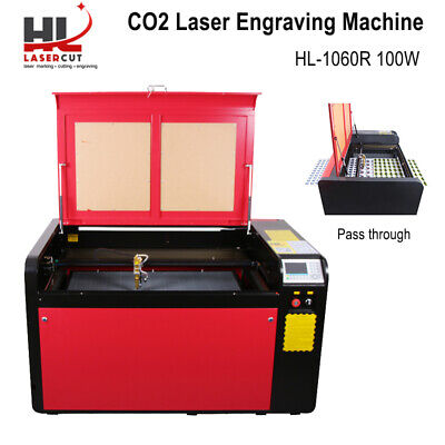 RDworks Reci 100W C02 Laser Cutter Engrave Machine With CW-3000 Chiller 1060
