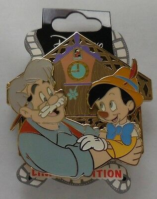 Disney Pin DSSH Fathers Day Pinocchio and Geppetto Surprise release LE200 New