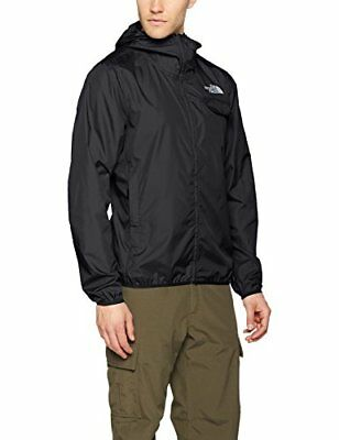 (TG. Small) The North Face Tanken Windwall, Giacca Uomo, Nero, S (J5a)