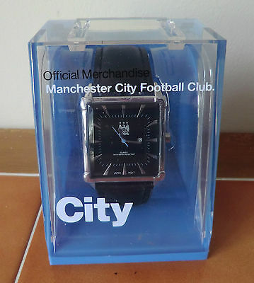 Man Manchester City Mens Wrist Watch - Brand New & Boxed