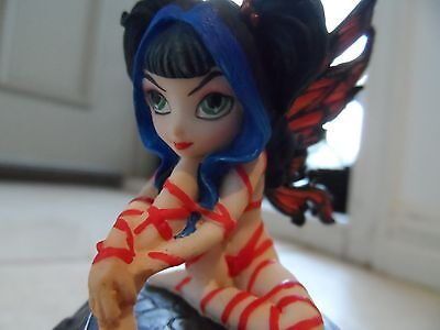 Jasmine Beckett-Griffith Strangling Fairies Collection Red Ribbon Fairy NEW