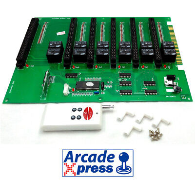 6 in 1 Jamma Switcher Extension Multijamma PCB Converter Arcade Machine