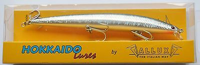 ARTIFICIALLE HOKKAIDO LURES ALLUX SUPER SHAD 150F 150mm 23gr F BLACK BACK -H05