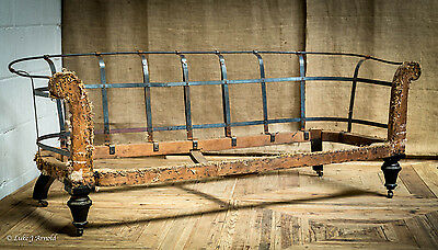 Victorian Chesterfield Sofa Settee Frame - For Reupholstery