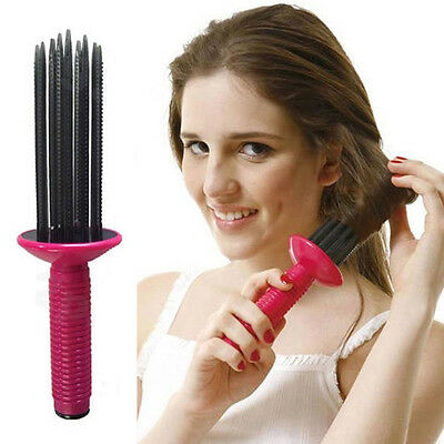Magic Hair Bendy Rollers Curlers Comb Circle Twist Spiral Brush Styling DIY Tool