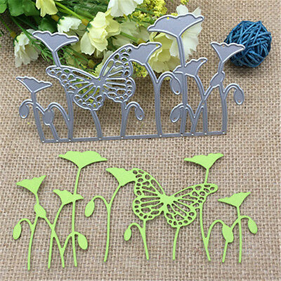 Butterfly Leaves Metal Cutting Dies Stencil Scrapbooking Card Embossing Craft