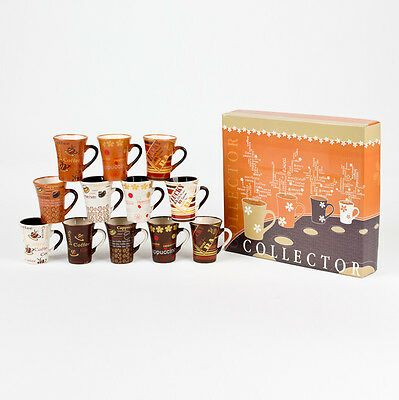 Coffret 12 Tasses Cafe 10Cl Collector
