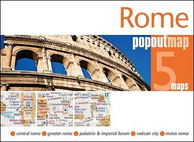 Rome PopOut Map by PopOut Maps 9781910218334 (Sheet map, folded, 2017)