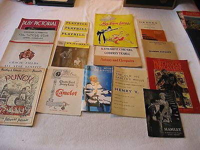 Vintage Theatre Playbills and Programs My Fair Lady, Anthony & Cleopatra, Hamlet