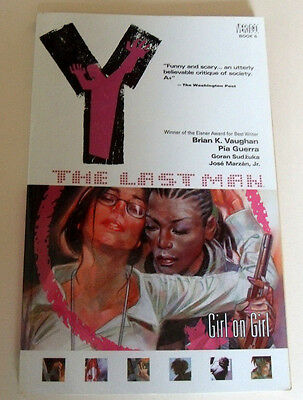 Y The Last Man Girl on Girl vol 6 by Brian K. Vaughan GRAPHPHIC NOVEL Book