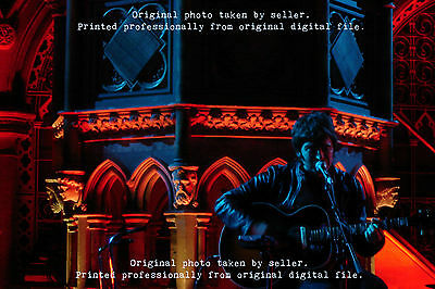 Noel Gallagher Oasis A4 photograph *** rare, original and printed to order ***