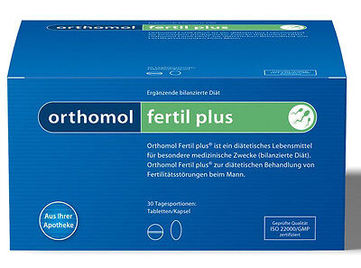 ORTHOMOL Fertile Plus, 30 Daily Portion, Tablets/Capsules, 02166673