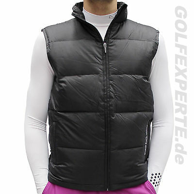 Wilson Staff Golf Gilet Uomo Movement Gilet Riscaldamento Anti-Vento Black