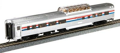 HO Scale Walthers 920-14029 85' Budd Dome Coach, Amtrak (Phase III)