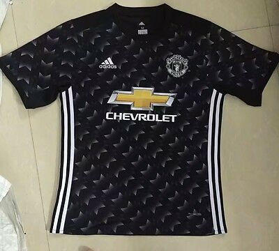 2017-2018 Manchester United Away Mens Climacool Jersey Shirt All Sizes