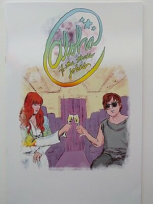 Jenny Lewis Aloha and the Three Johns Comic Book SIGNED BY JENNY