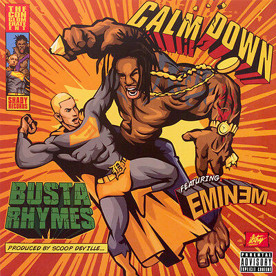 Busta Rhymes + Eminem - Calm Down - RECORD STORE DAY *RSD2017* +CARRIER