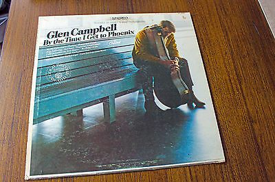 Glen Campbell By The Time I Get To Phoenix Lp Album