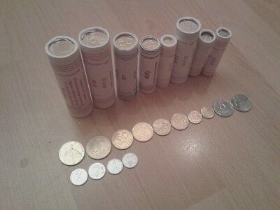 complete set of coins of Ukraine with  Bank roll and a bonus of UAH 1 Euro 2012