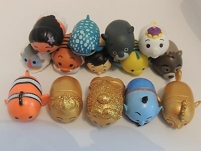 Disney Tsum Tsum Squishies Choose Your Figure - Series 4 - Glitter