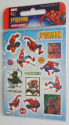 SpiderMan Toy Story decorating activity fridge magnets magnetic stickers labels