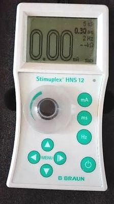Stimuplex® HNS-12 Peripheral Nerve Stimulator,very good condition!