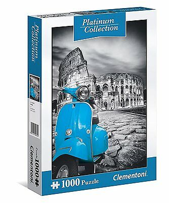 Puzzle 1000 Pezzi Platinum Collection Colosseo Clementoni 39399