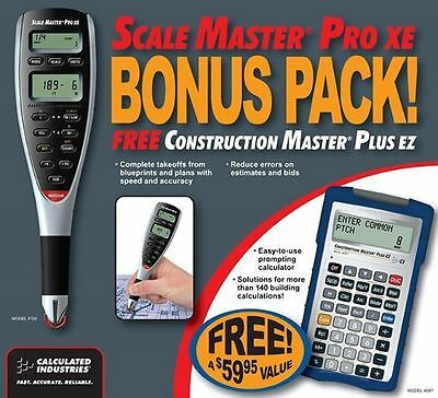Calculated Industries  6135 Scale Master Pro XE Bonus Pack  With Free Calculator